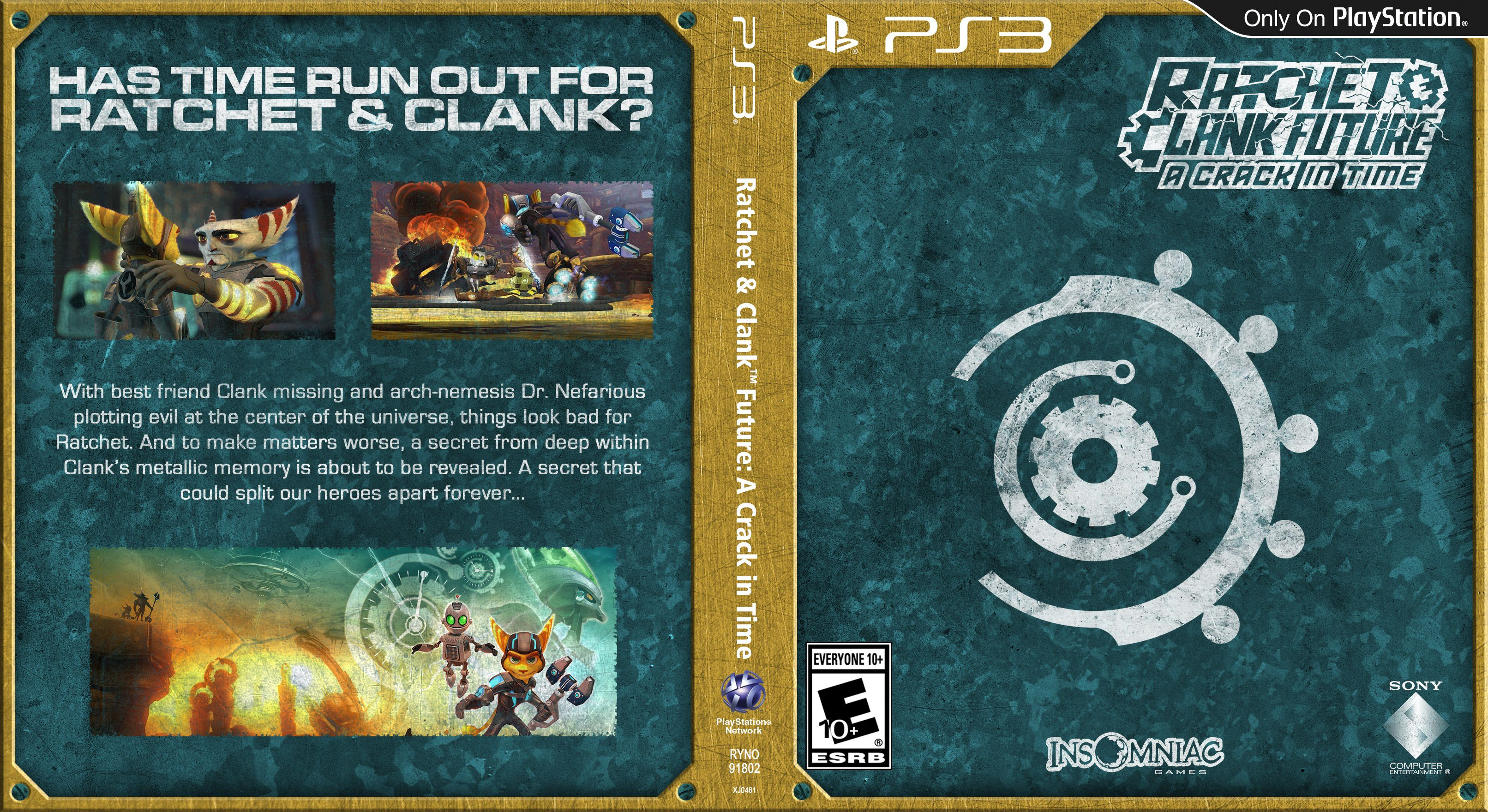 Capa Ratchet & Clank Future A Crack In Time PS3