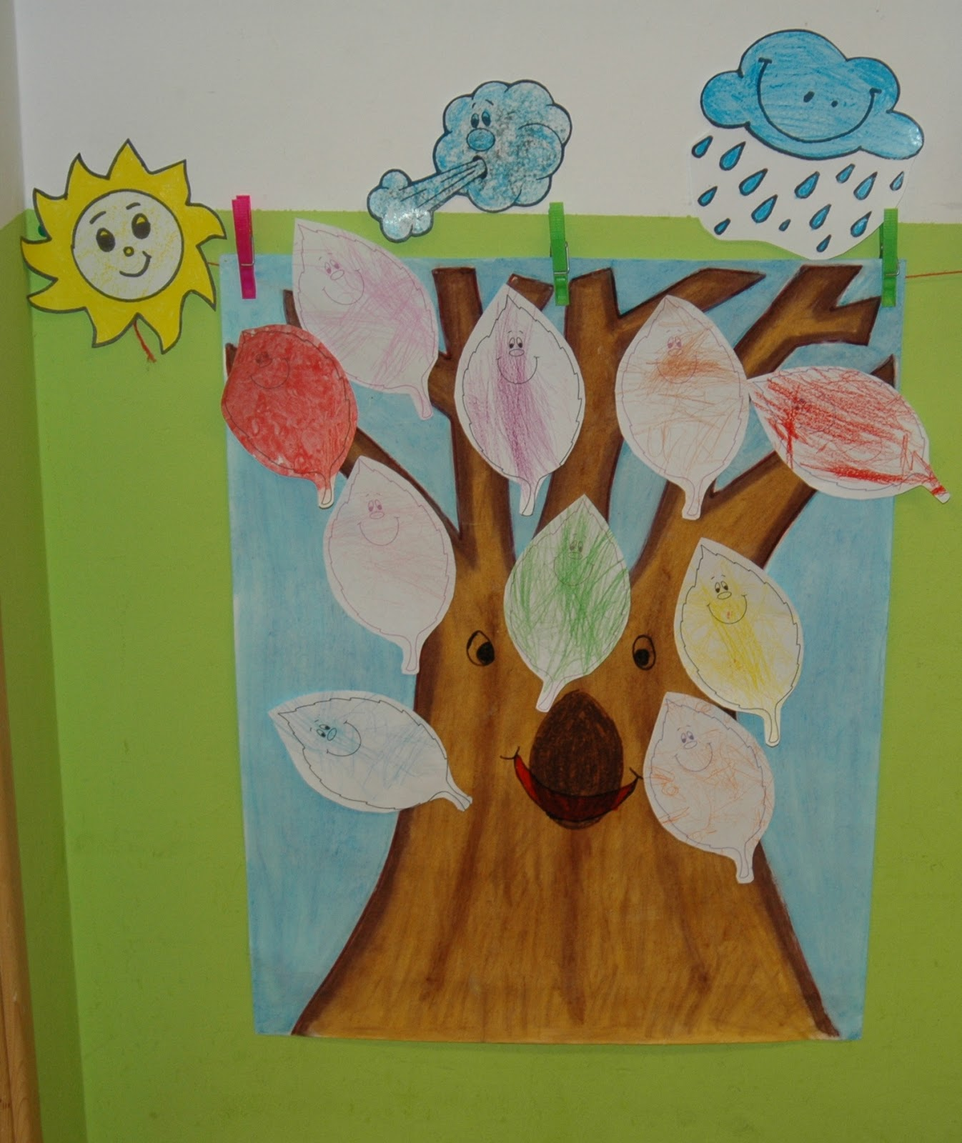 Escuela infantil villa lobitos cuento del oto o el rbol for Arboles que no pierden sus hojas en otono