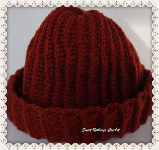 crochet headwear, crochet for men, beanie