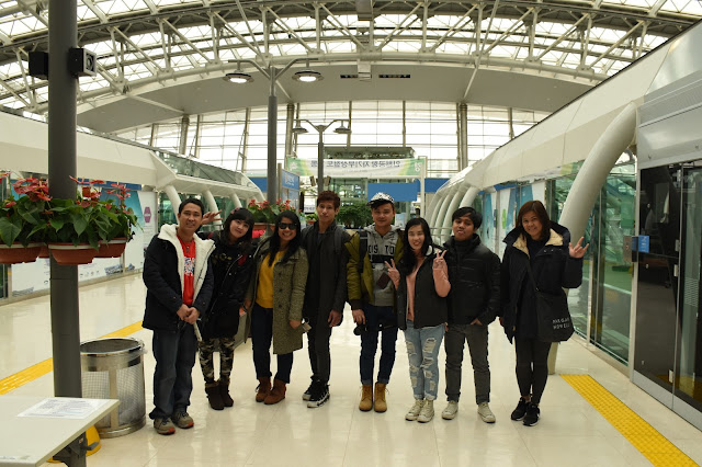 The station of Maglev Line at Incheon Internatonal Airport