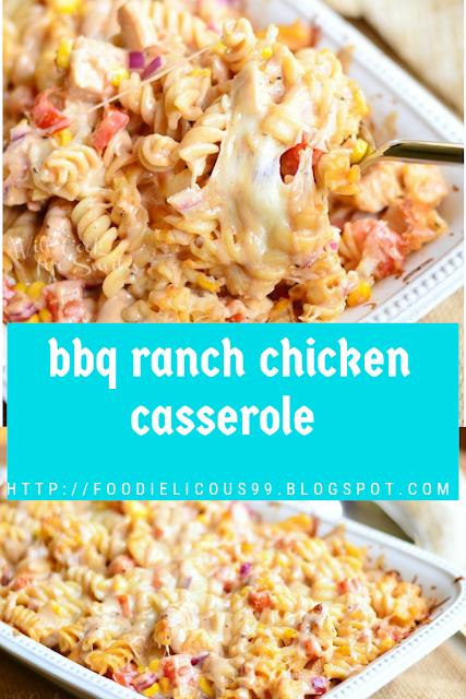 bbq ranch chicken casserole Recipe