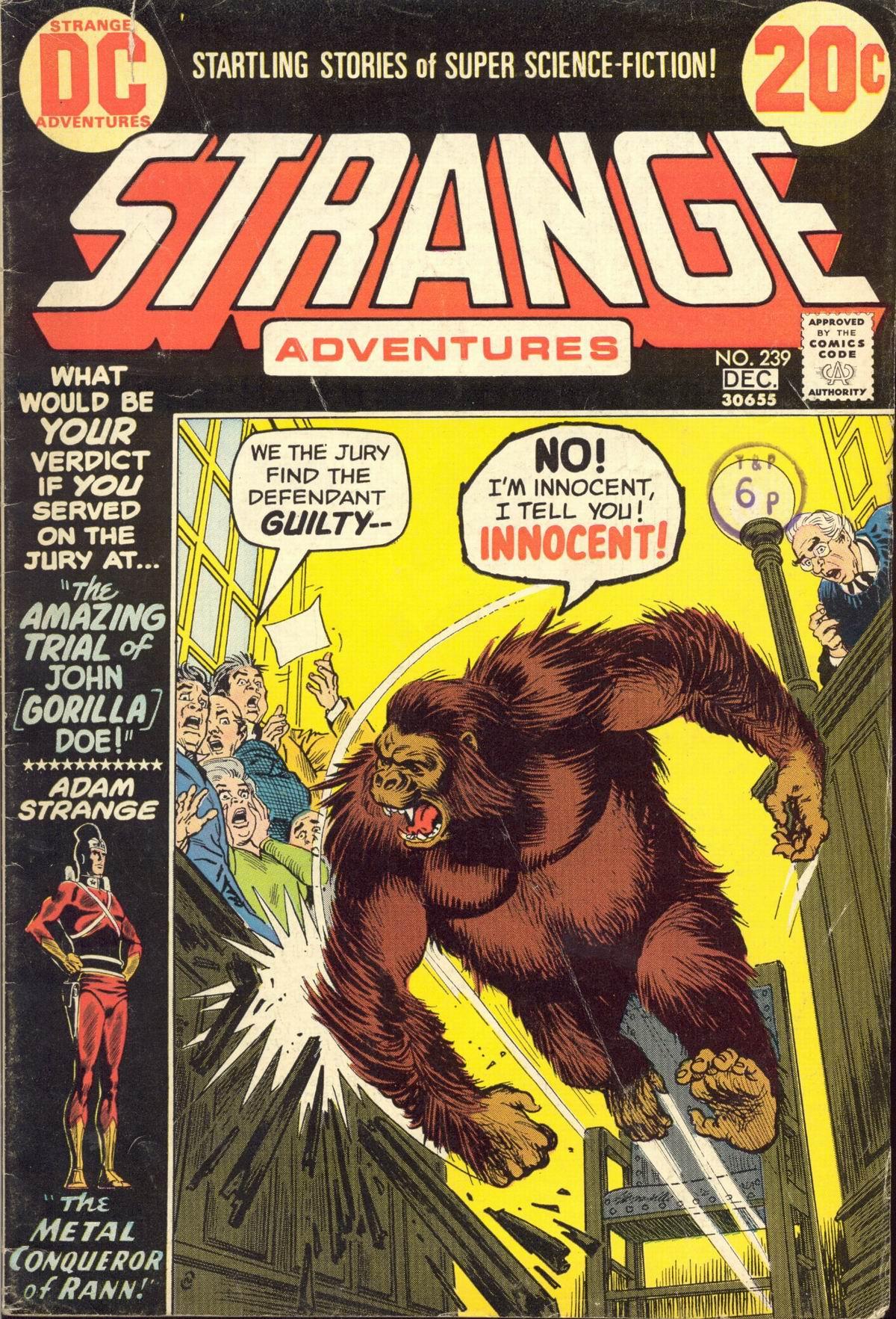 Strange Adventures (1950) issue 239 - Page 1