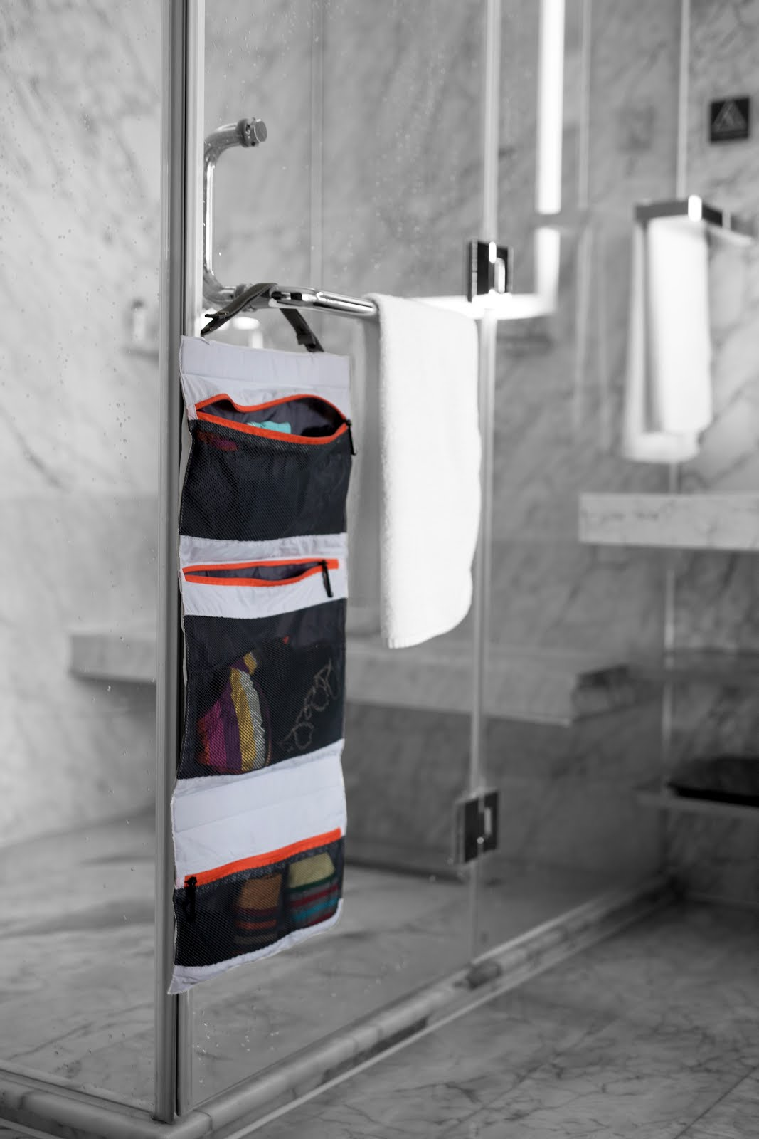 TUO - easy access to undergarments in your hotel bathroom