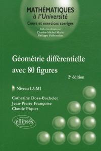 Géométrie différentielle avec 80 figures- Niveau L3-M1