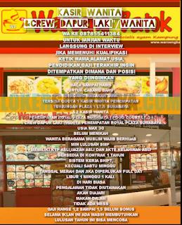 Lowongan Kerja Terbaru di Warung Batok Surabaya Terbaru April 2019