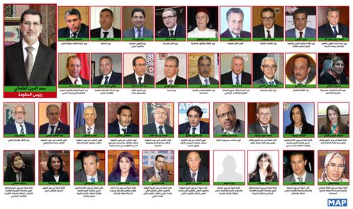 معلومات عن الوزراء الذي تم تجديد الثقة فيهم من طرف صاحب الجلالة + اللائحة الكاملة