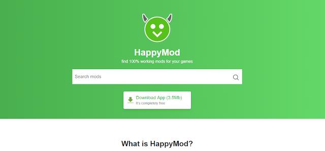 تحميل أفضل متجر للأندرويد HappyMod  لتحميل كل شيئ التطبيقات والألعاب المدفوعة مجانا !