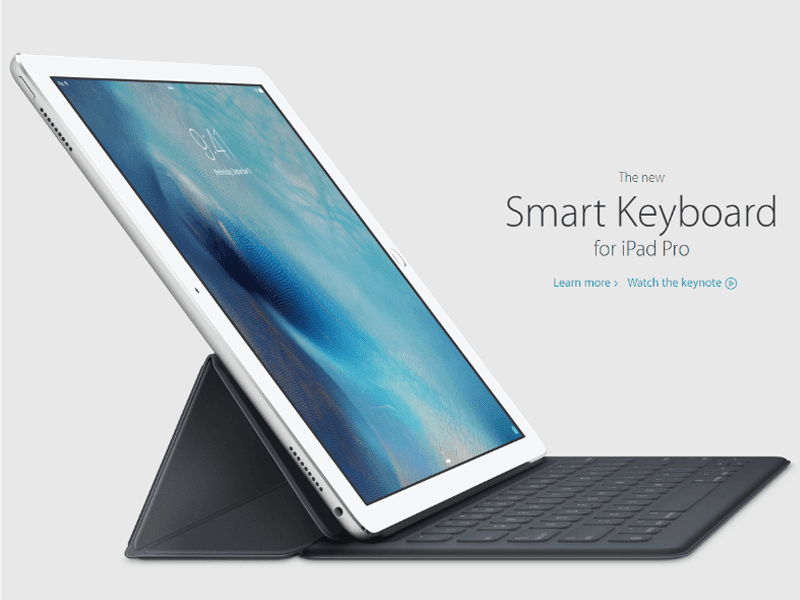 APPLE IPAD PRO LAUNCHED TOO! COMES WITH 12.9 INCH SCREEN!