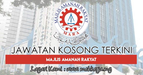 Jawatan Kosong Terkini 2018 di Majlis Amanah Rakyat (MARA)