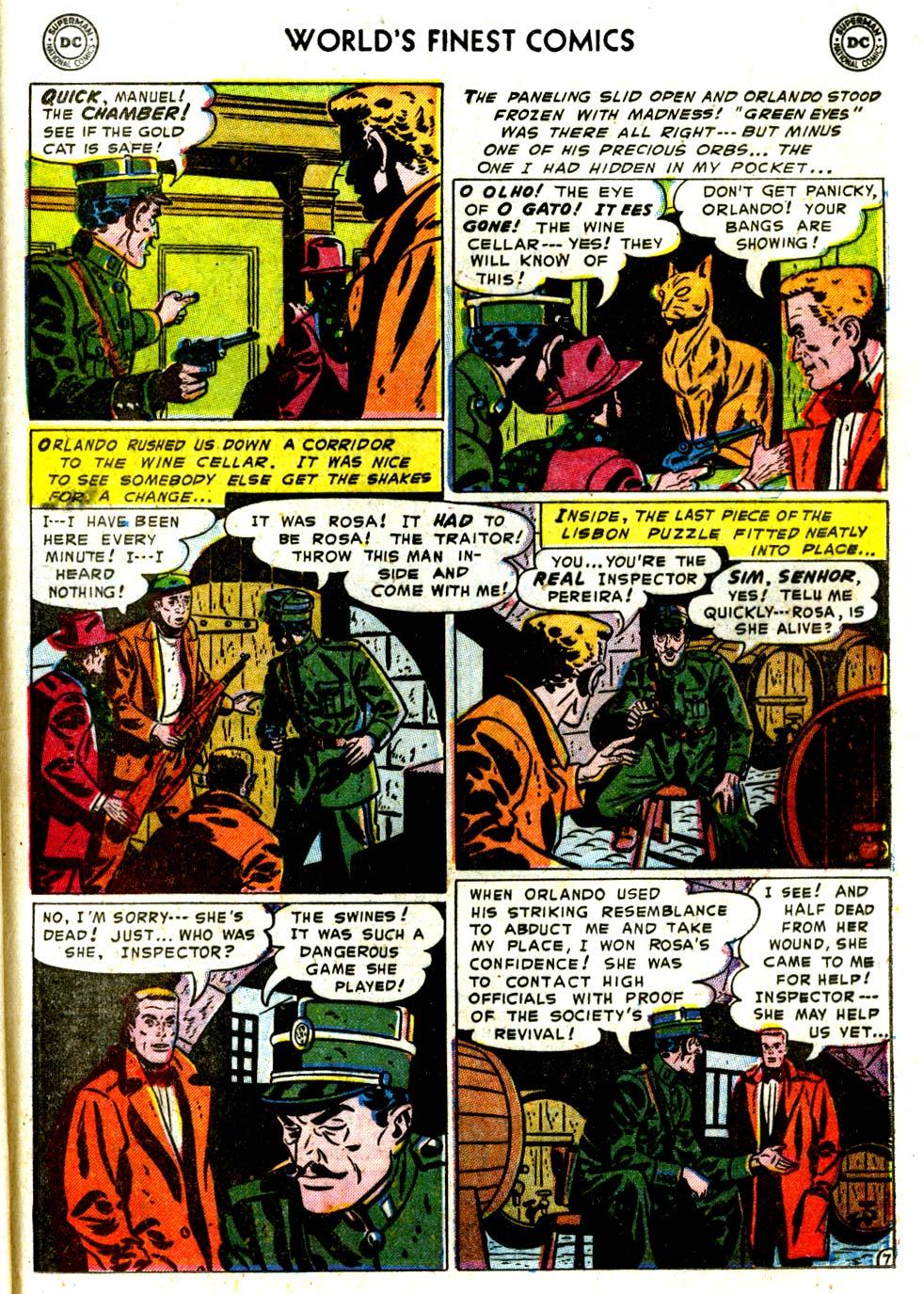 Read online World's Finest Comics comic -  Issue #68 - 49