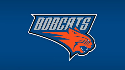 charlotte bobcats logo blue hd wallpaper