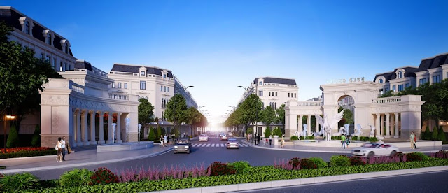 Louis City mang phong cách thiết kế hoàng gia Pháp