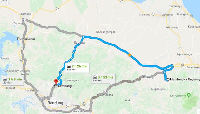 Pengalaman Naik Motor Majalengka ke Lembang