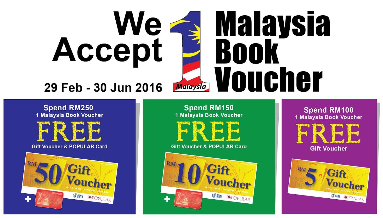 Popular Bookstore 1malaysia Book Voucher Bb1m Promotion 29