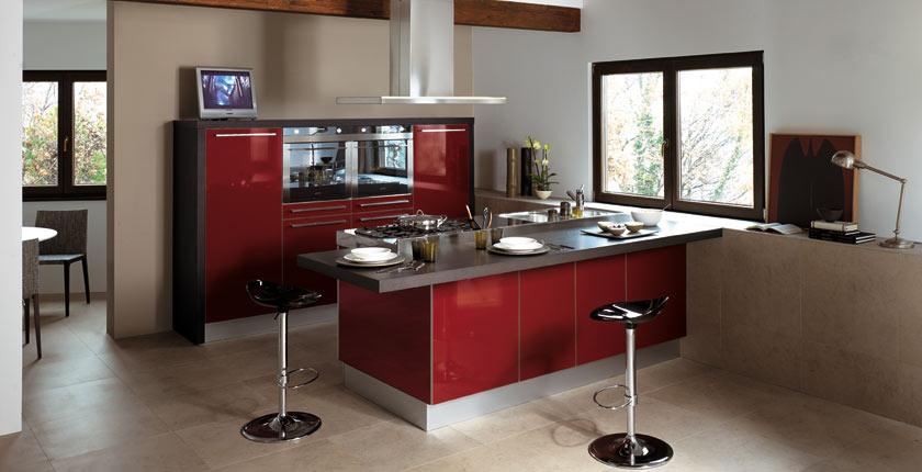 C mo integrar una mesa en la cocina cocinas con estilo - Bancadas de cocina ...