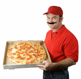 A person lodges a complaint in Police for a delay of 1/2 for Pitzza delivery