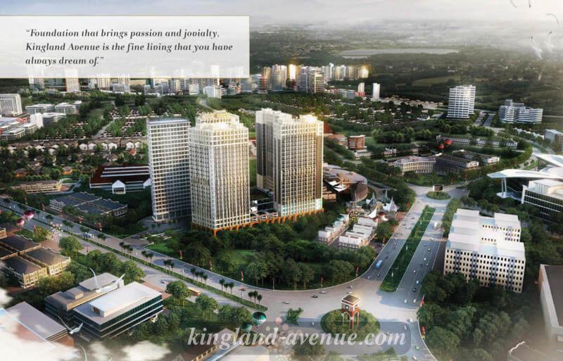 Kingland Avenue @ Serpong