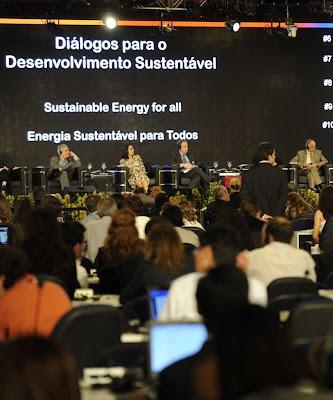 Rio+20 quer instalar um super-governo mundial  Foto Fabio Rodrigues Pozzebom-ABR.