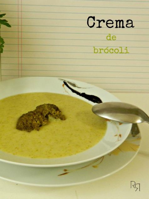 """""""Crema de brócoli"""""""