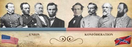 Führende Personen des Sezessionskrieges
