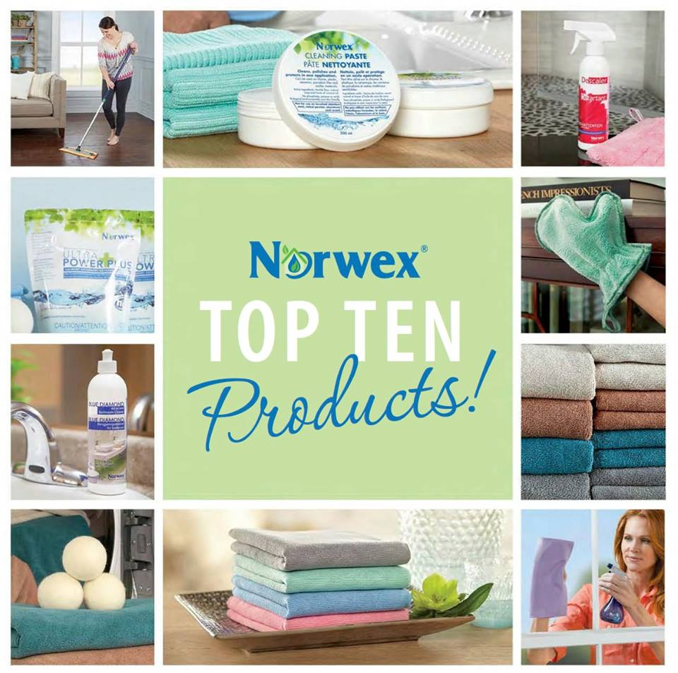 Norwex Catalog: The Manor Manor: Product Spotlight #1 With Top 10 Sellers