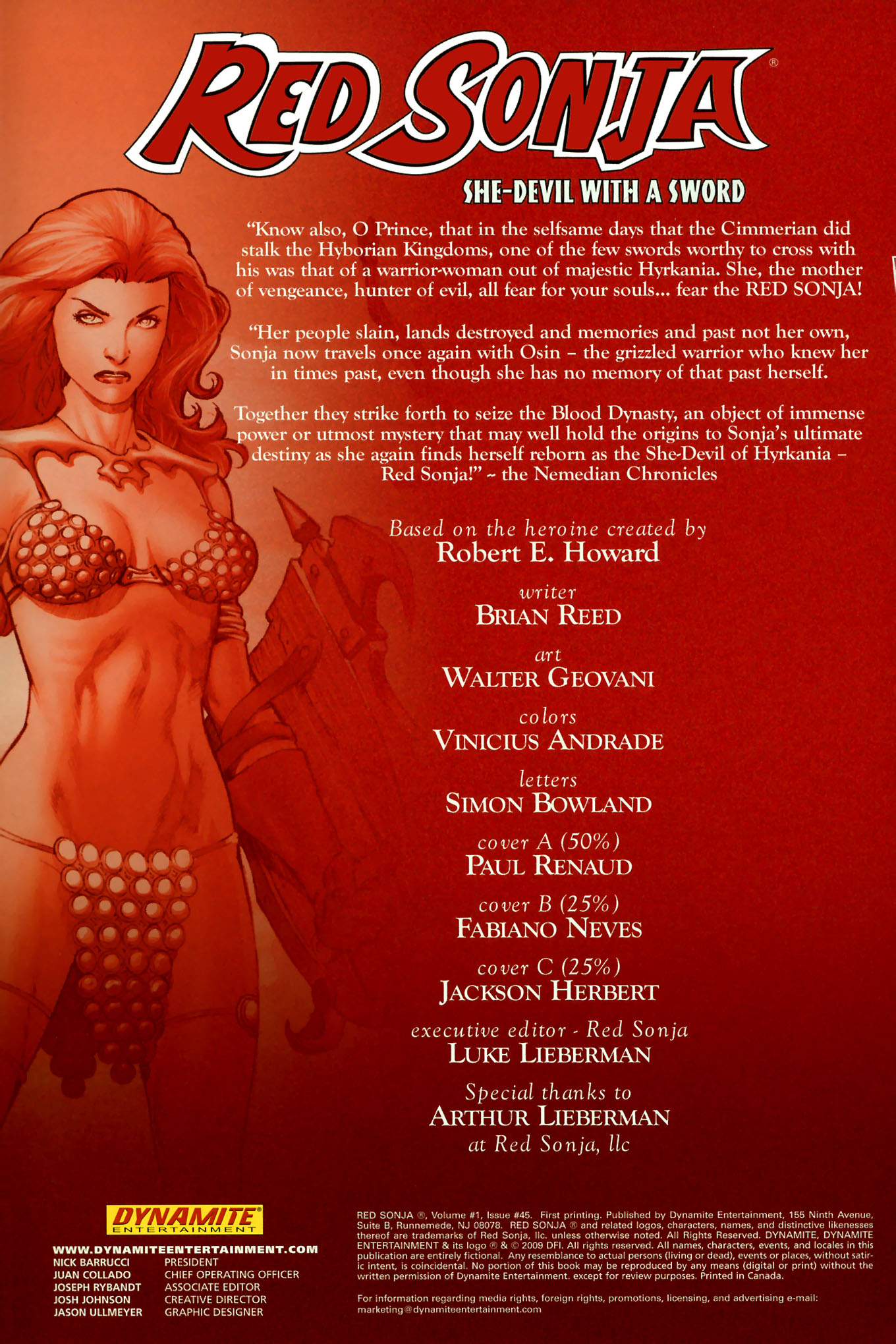 Read online Red Sonja (2005) comic -  Issue #45 - 4