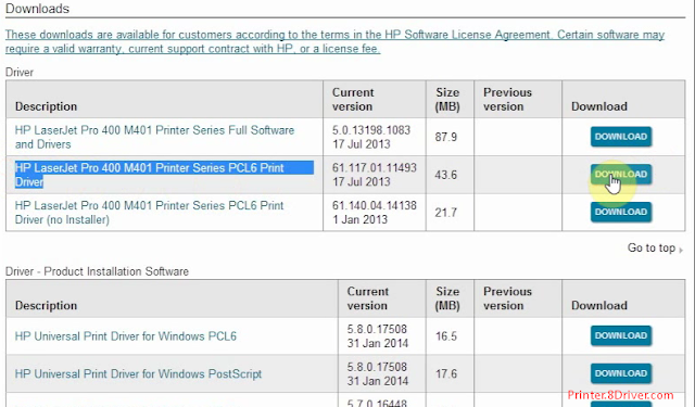download HP PSC 1300 series 2.0.1 Printer driver 3