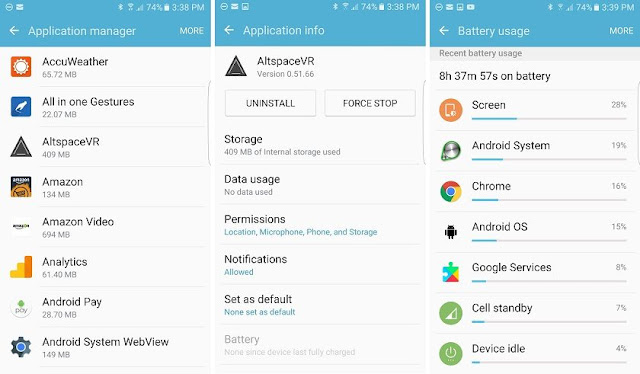 Optimize android smartphone by un install unused apps