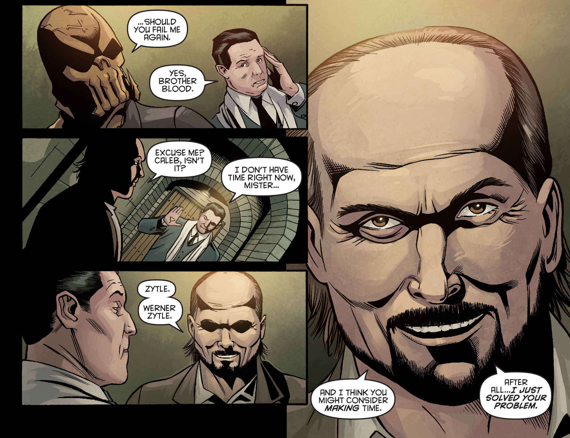 Read online Arrow: Season 2.5 [I] comic -  Issue #7 - 18