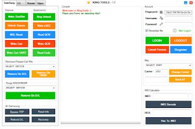 King Tools V1.0 Crack Setup With Auto Registration