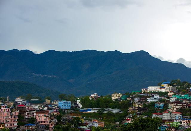 Kohima Town Landscape Photos