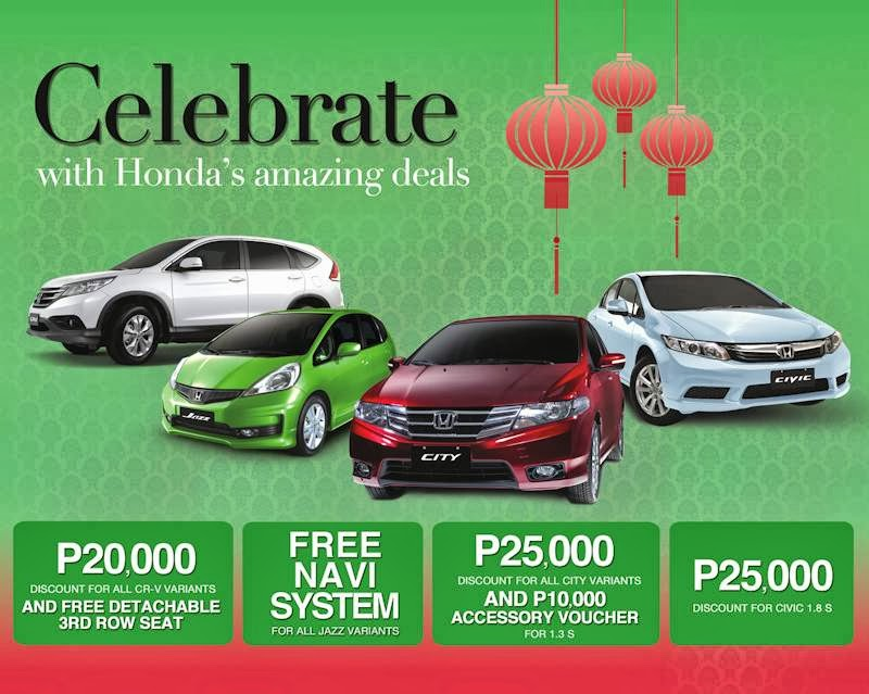 Last Week For Honda S Amazing Deals Promo Until September 30 Only