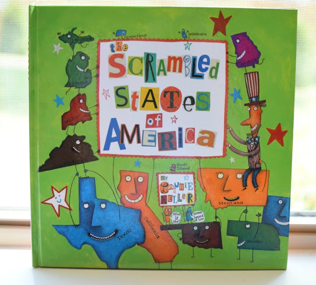 The Scrambled States of America, part of August reading roundup favorite book selections