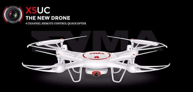 Syma X5UC, the new drone with HD Camera