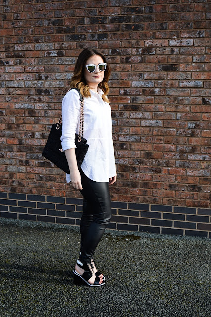Senso Riley Fashion Blogger Quay Marble Sunglasses