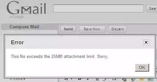Gmail Message Attachment Limit Now 50MB From 25MB