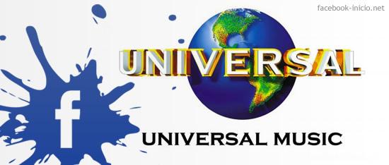 Facebook y Universal Music