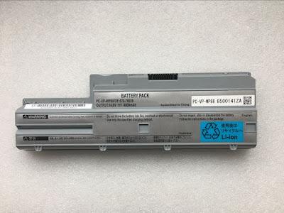14.8v 4800mah PC-VP-WP88 OP-570-76939 batterij voor NEC LL590LG LL570LG