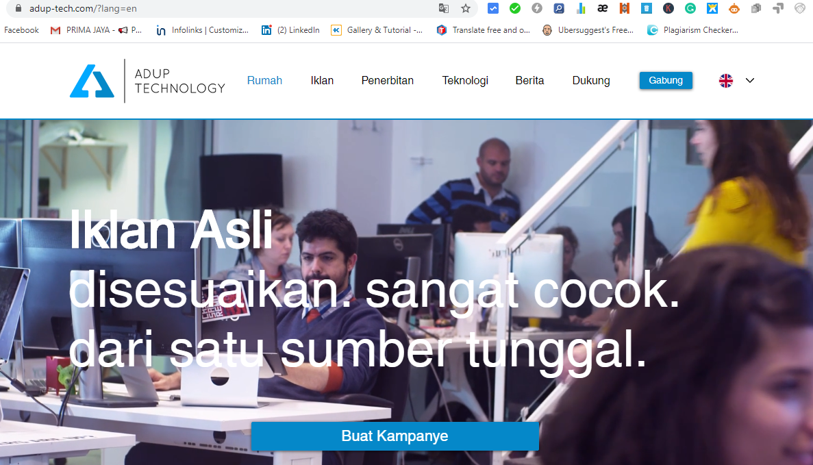 Cara Daftar Ad Up Technology Publisher