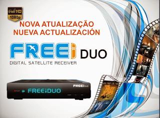 Atualizacao do receptor Freei Duo V