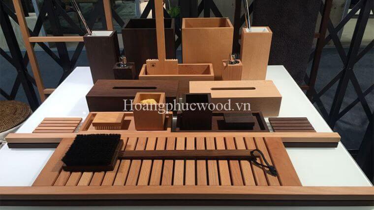 Những thiết kế từ gỗ Teak sáng tạo trong phòng tắm