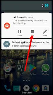 Cara Merekam Layar Hp Android Menjadi Video dengan mudah Tanpa Root