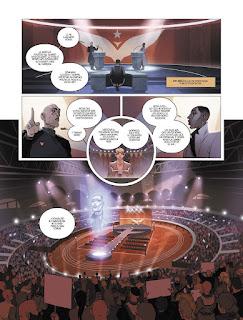 """Reseña de """"WARSHIP JOLLY ROGER vol.4 Últimas Voluntades"""" de Montlló y Sylvain Runberg - Norma Editorial"""