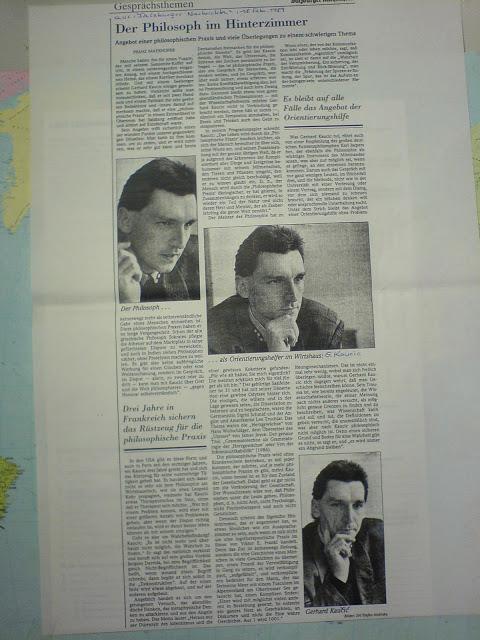 """Der Philosoph im Hinterzimmer"",  Dr. phil. Gerhard Kaučić"