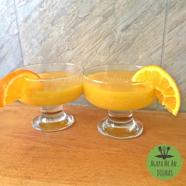νηστισιμη κρεμα πορτοκαλιου