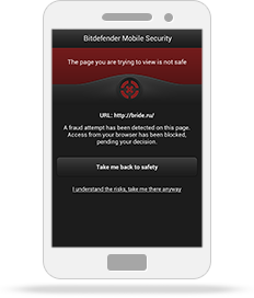 Bitdefender Mobile Security for Android smart phones : Use the best malware scanner, web security, App audit and Anti theft App there is