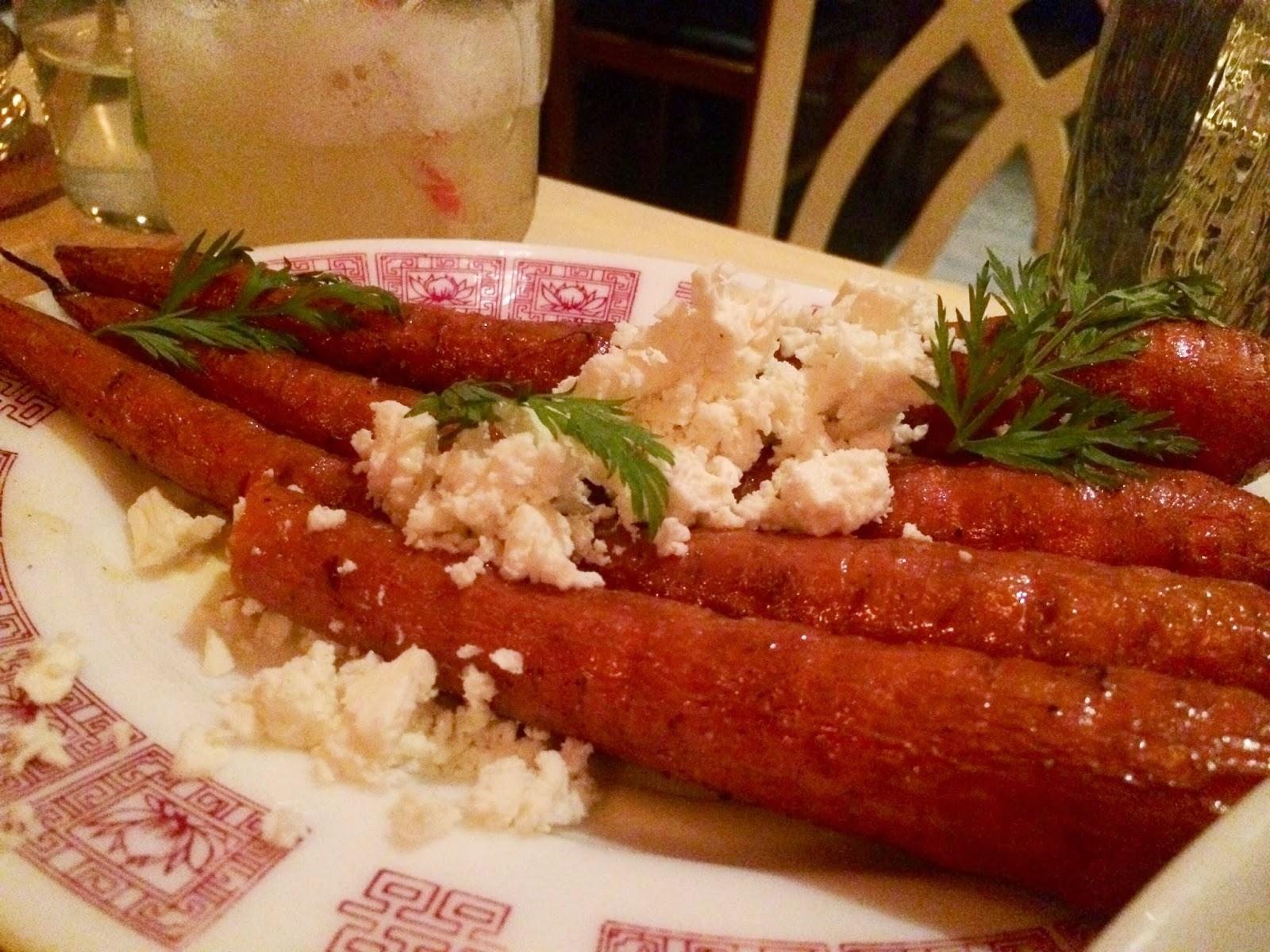 Chalk Point Kitchen, NYC, Soho, heirloom, carrots, eating fabulously, Matt Levine, Christopher Stewart