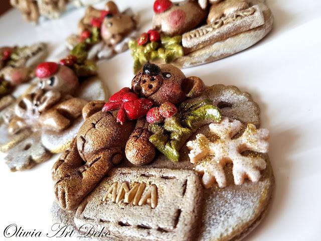 Ciastki, misiaki i inne świąteczne stworki :)