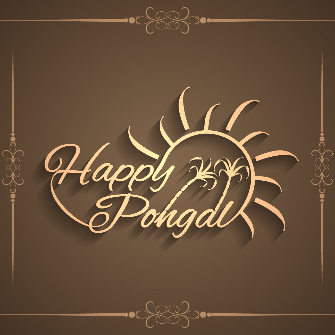 Happy Pongal 2017 Wallpapers