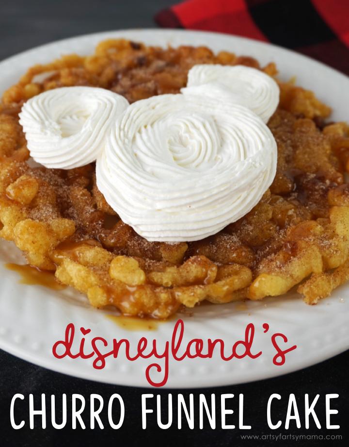 Copycat Disneyland Churro Funnel Cake